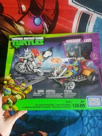 TMNT leo mega blocks lego set Cambridge, N1R 8J7