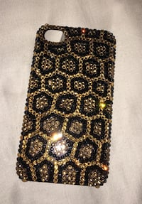 Brand New Gold and Black Crystal Leopard iPhone case  Rockville, 20853