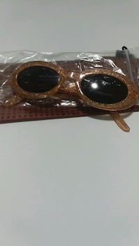 brown framed sunglasses Milton, L9T 6X5