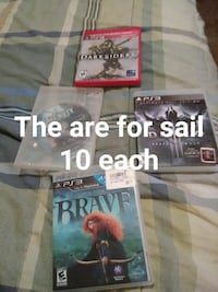 four assorted PS3 game cases Lexington, 38351