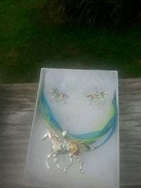 Horse necklace with hook earrings to match Upper Marlboro, 20774