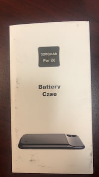 Battery case for iPhone X New Orleans, 70119