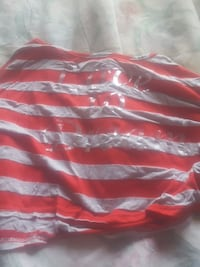 red and white striped scoop-neck blouse Fort Wayne, 46805