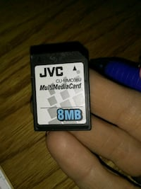 Jvc 8mb multi media card