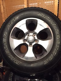 5 Wheels and Tires Wilson, 21740
