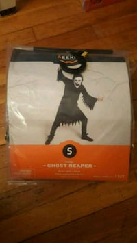 Costume Ghost Reaper Size Small Age 3+