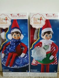2 new Elf on the Shelf girl doll clothes Claus Couture $15 Rockville