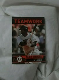 Pablo Sandoval giants card  San Francisco, 94112