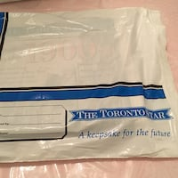 white and blue mattress in pack Vaughan, L4J 4R8