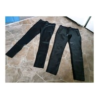 Pleather pants and leggings size 6/small Surrey, V3Z 1G8