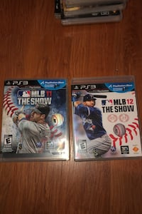 MLB 11 & 12 The show PS3 Pickering, L1X 2L9