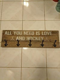 hockey coat hooks Whitchurch-Stouffville