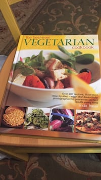 Vegetarian cook book Annapolis, 21403