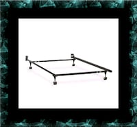 Metal frame rails full twin Queen $40 King $70 Ashburn
