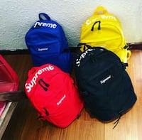 Supreme school backpack (shipping only) North Saint Paul, 55109