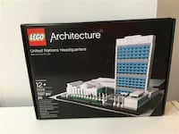 Lego Architecture United Nations Headquarters #21018 new
