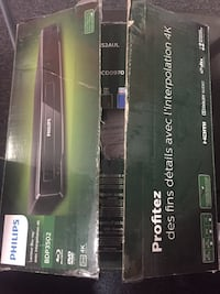 Brand new unused 4K upscaling blue ray Phillips player Pawtucket, 02860