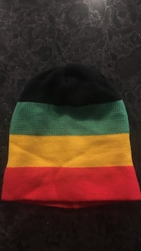 Black, green,yellow and red beanie Oakville, L6M 2H4