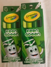 Crayola Special Edition  4 PIP-SQUEAKS MARKERS Oakville, L6H 2Z5