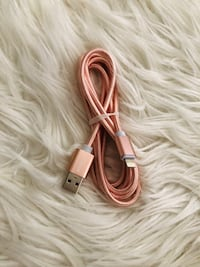 Iphone lader Rose Gold
