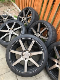 19x8.5 Niche Wheels 5x120 BMW and Continental Tires Silver Spring, 20904