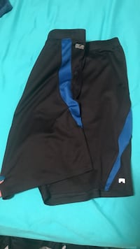 black and blue short