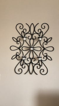 wall art, wrought iron by pottery barn Sterling, 20166