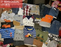 2T BOYS CASUAL CLOTHING LOT Leesburg