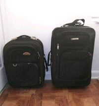 two black softside luggage bags West Palm Beach, 33404