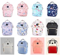 assorted color and print backpack collage Rock Hill, 29732