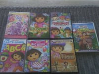 7 kids dvds $6 all good condition. Tipton, 46072