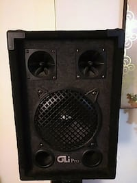 black and gray subwoofer speaker New York, 10029