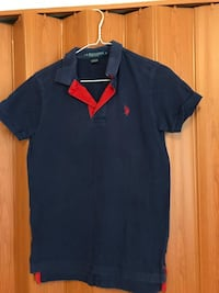 blue and red polo shirt Edinburg, 78539