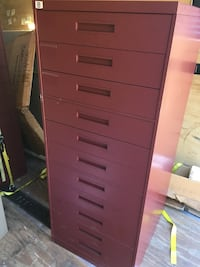 11 drawer Index Card File Cabinet, REDUCED TO $625, like new Clover, 29710