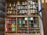 HUGE bead lot for jewelry making! Glass, Howlite, plastic, metal, silver and gold tone, chains, and more! Washington, 20007