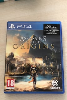 Ps4 oyun assassins creed origins