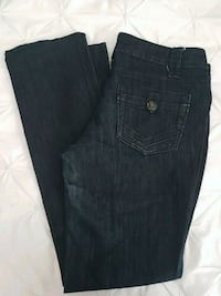 Womens Dark wash rw&co jeans