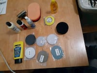 Headlight restoration kit / sanding discs