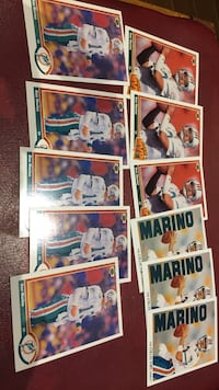 1991 Upperdeck Dan Marino lot of 11 cards New Tecumseth, L9R