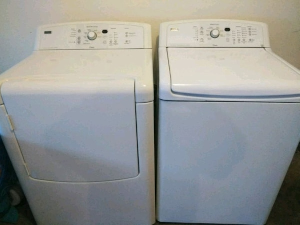 Kenmore Oasis Washer Dryer