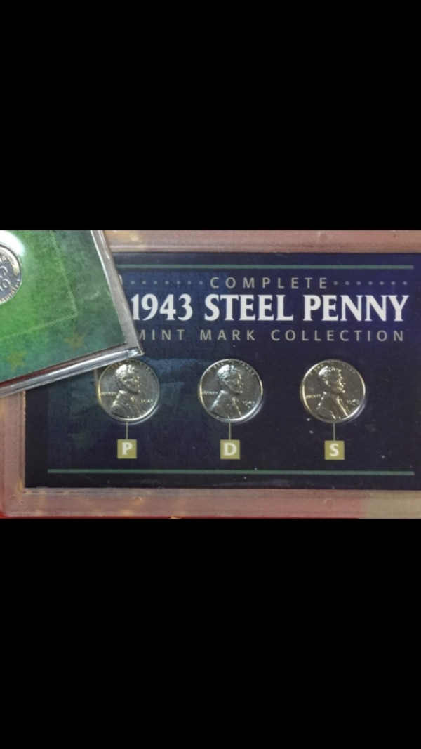 1943 Steel Penny Coin Collection