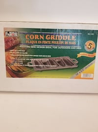CORN GRIDDLE. OUTDOORS & BBQ CAN USE ON STOVETOP.