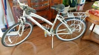Silver 7speed ladies bike.  Falls Church, 22046