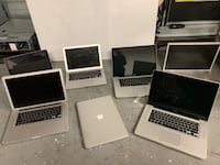 Lot of 7 x MacBook Pro / Air Laptops Frederick, 21703