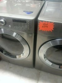 gray front-load washer and dryer set Laurel, 20707