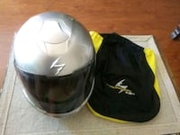 two black and white full-face helmets Los Angeles, 91042