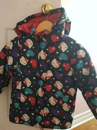 Hello kitty winter jacket for girls