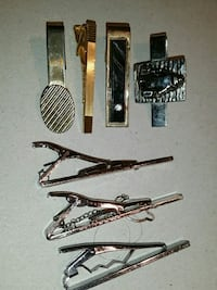 Variety of tie pins 7 of them