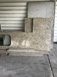 granite we have about 45 square feet, nicecondition