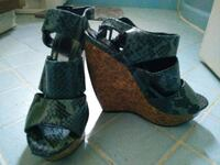 pair of black-and-brown sandals Anderson, 96007
